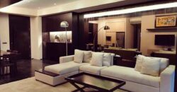 Apartemen Permata Hijau Modern Open Plan with Large Balcony Surrounded by Trees