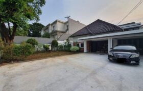 Beautiful house for rent in elite residential area in Menteng Central Jakarta