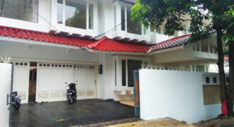 Luxury home for Rent in Ministerial housing complex at Kuningan Jakarta Selatan