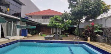 Rumah 2 Lantai + Pavilion di Kemang Bangka